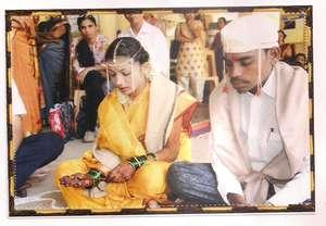Poonam's( Bride) happiest day