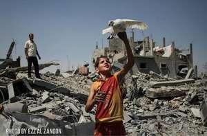 Gaza: freedom and destruction.