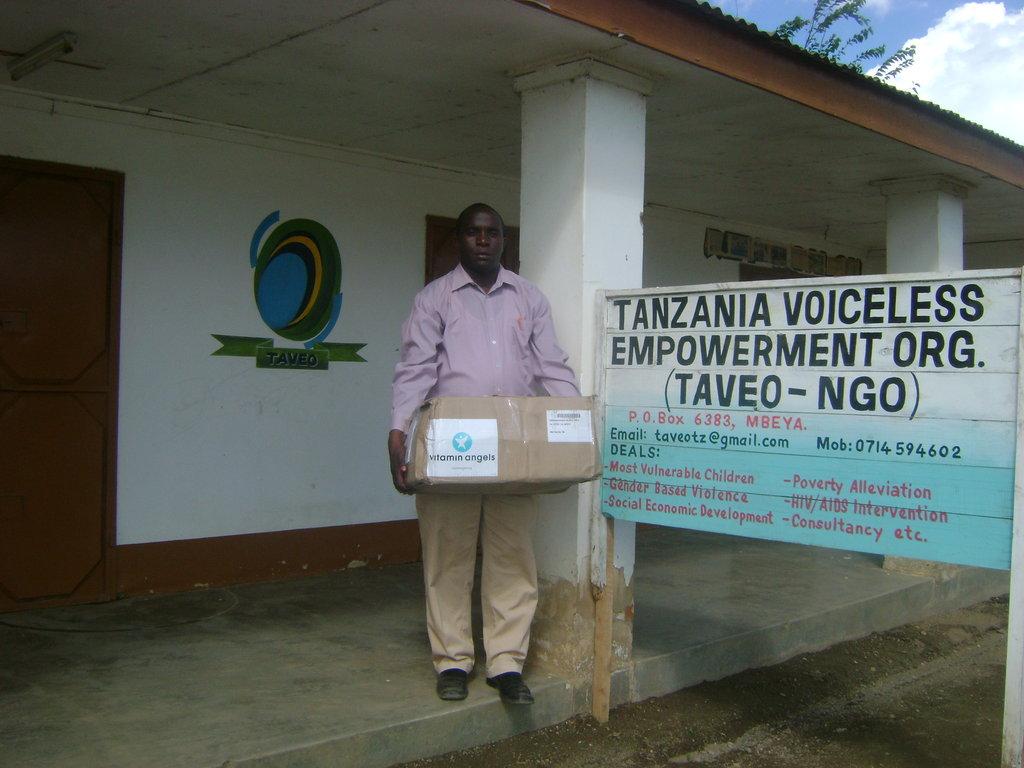 Vitamin A Supplement for 37500 Tanzanian Children