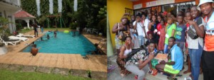 Pool party at Chloe's - Passage of Free Vision