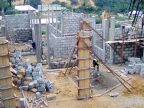 Resumption of work on the construction