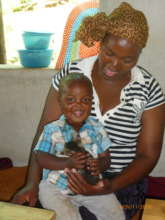 Thobile and son
