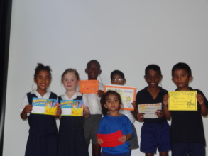 """Recipients of """"Star of the Week"""" certificate"""