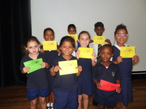 "Foundation Phase:  ""Star of the Week"" recipients"