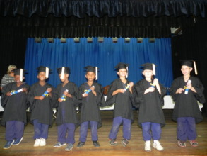 "Grade R learners graduating to go to ""big school"""