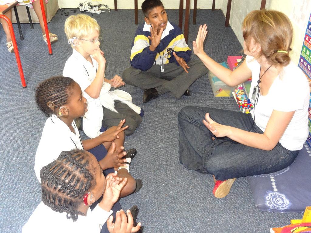 HOME & TEACH 7 INDIGENT DEAF CHILDREN IN S/AFRICA