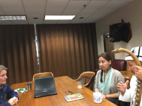 Kyrgyz ICP meeting at Smithsonian Institute