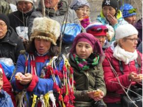 Reviving the Snow Leopard ceremony