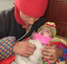 New mother visits Rima Clinic with her infant