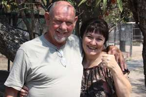 A big thank you from Ian and Michele