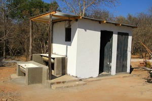 One of the ablution block