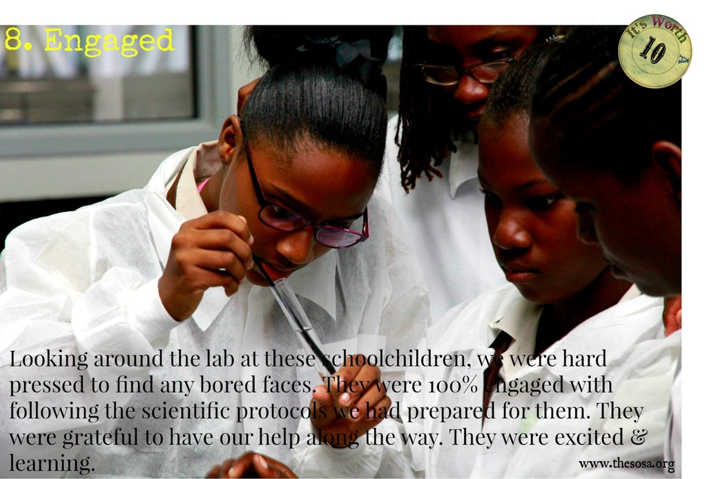 Uplift Jamaican Schoolchildren Through Science