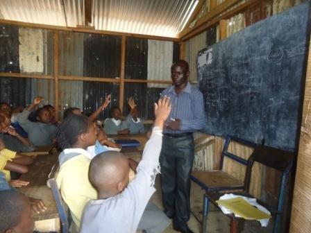 Educate slum child in Kenya