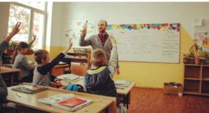 Daniel in the classroom