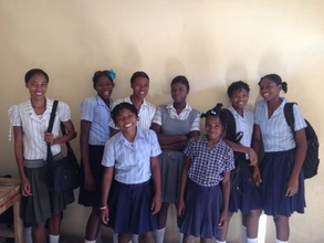 Some live at the'Girls Safehouse' during school
