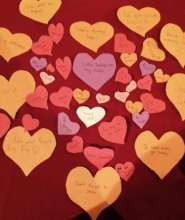 """Hearts for """"Share the Love"""""""
