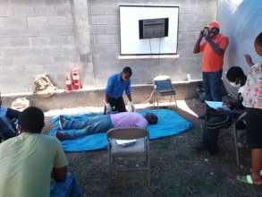 Staff CPR training