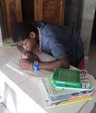 Getting school books ready!