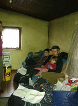 Helping the family with six children