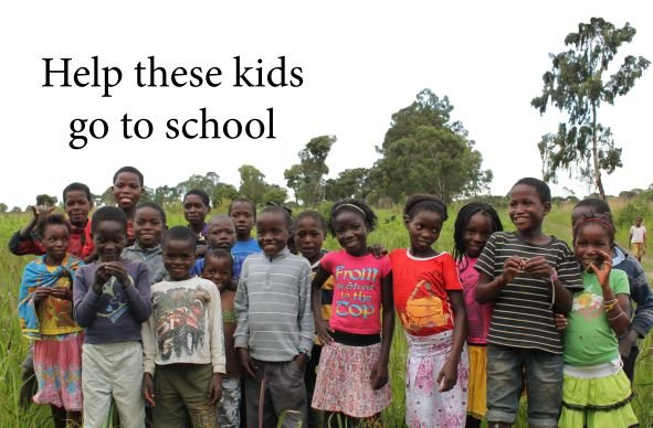 Help 20 kids in rural Angola receive an education