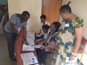Community assessment done by participants