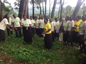 Dramatization on GBV issues in the community