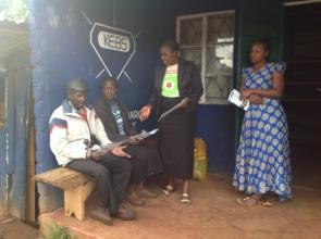 Karen sharing information on FGM eradication