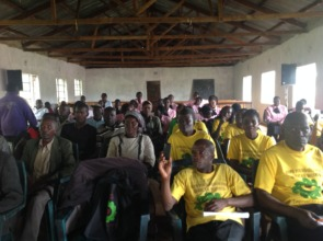 Community participation in Kisii meeting guests
