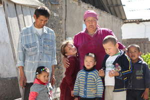 Family where child find shelter and protection