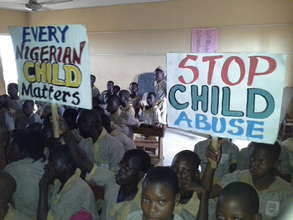 ''End child abuse today''