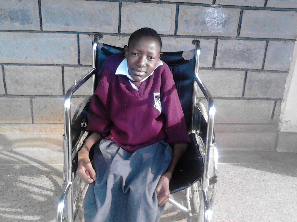 Educate 150 disabled orphan girls child in Kenya