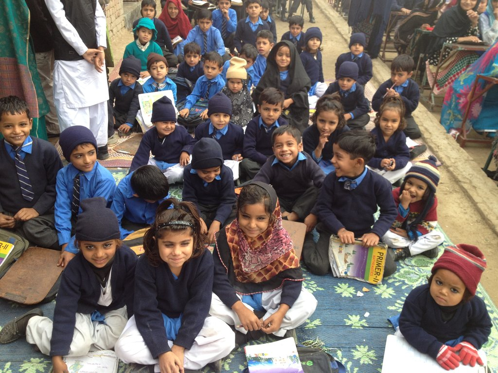 Primary and Secondary Education in rural Pakistan