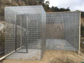 Temp cage front