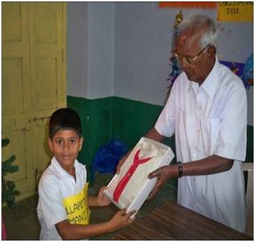 Send 25 deprived children to School of Nalgonda