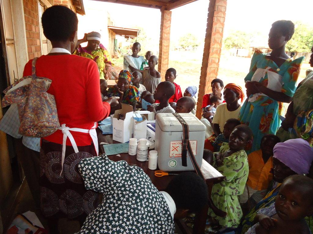 Give 2500 Children Vitamin A in Namutumba district