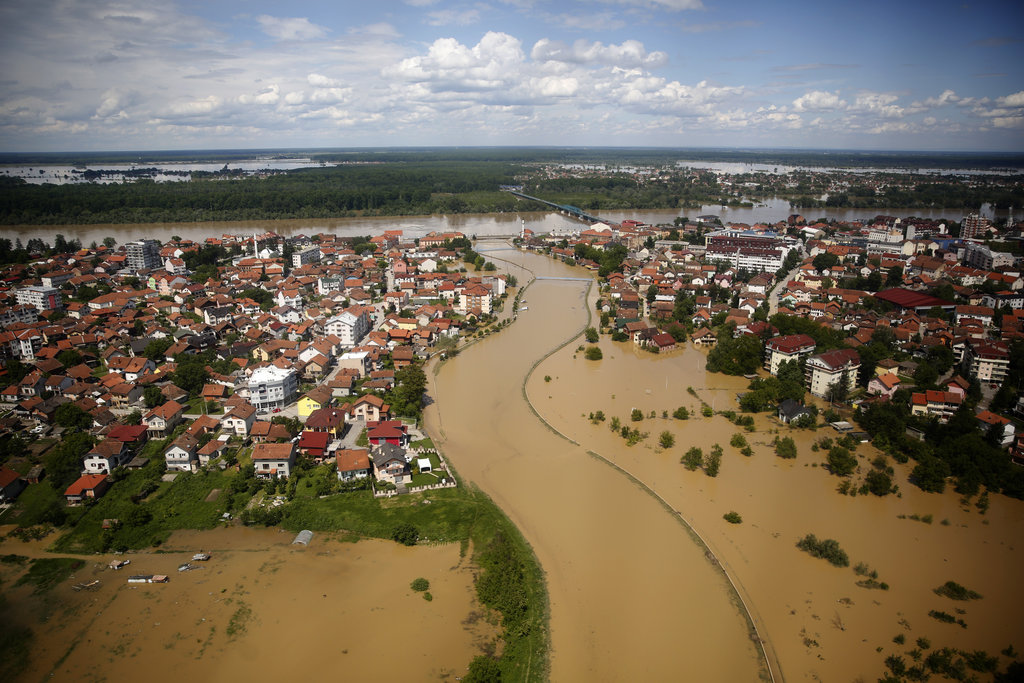 Emergency Relief for Victims of the Balkan Floods