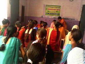 Health & Hygiene Support for 500 Poor Girls