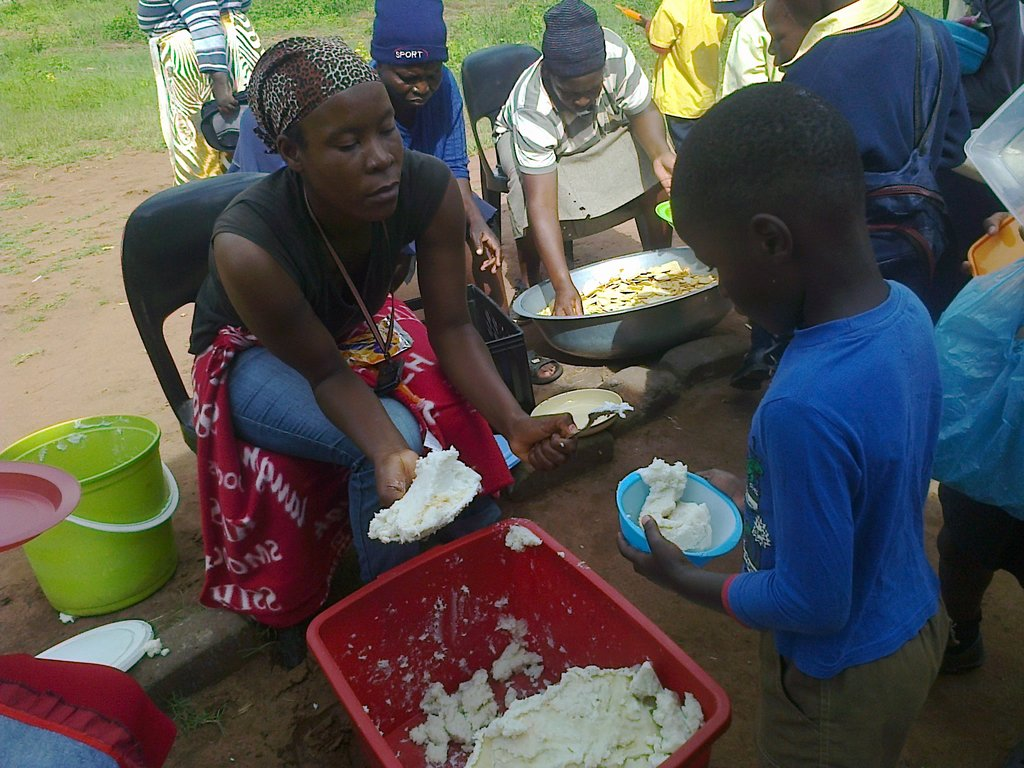 Help Feed 352 Vulnerable and Orphan Children