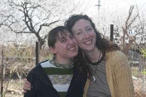 Susanna (resident) and Natalie (founder)