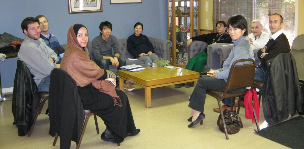 Cross-cultural training for international students