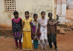 Malayali Tribal Children