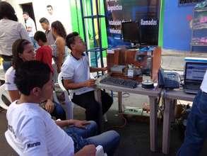 "Electronics at Fair of Achievements ""Young Entrepr"