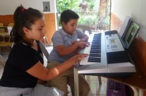 Music classes, Keyboard Electric Piano