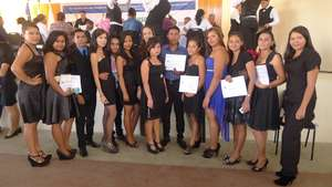 Group of youth graduates of Professional Cooking