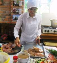 Youth in the Professional Cooking Training