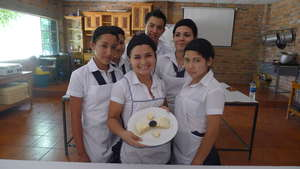 Team of the Professional Cooking Area