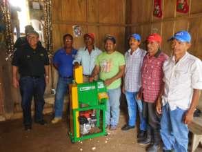 Corn farmers in Nicaragua.
