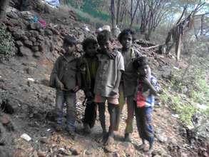 Yanadi Tribal Children