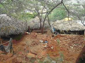 Thatched Houses View of Tribals