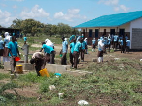 Students at Buyani Secondary